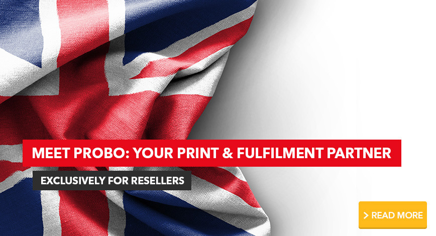 Meet Probo your print and fulfilment partner